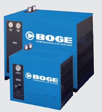 Series BVF Refrigerant Dryers from Boge