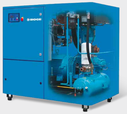 Screw compressor s series up to 45 kw | boge compressors.